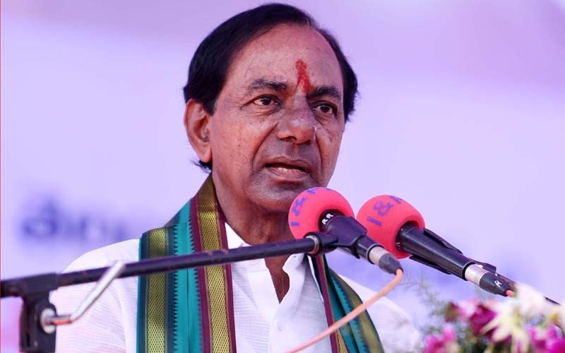 KCR Gave shock Shock to Sitting MP