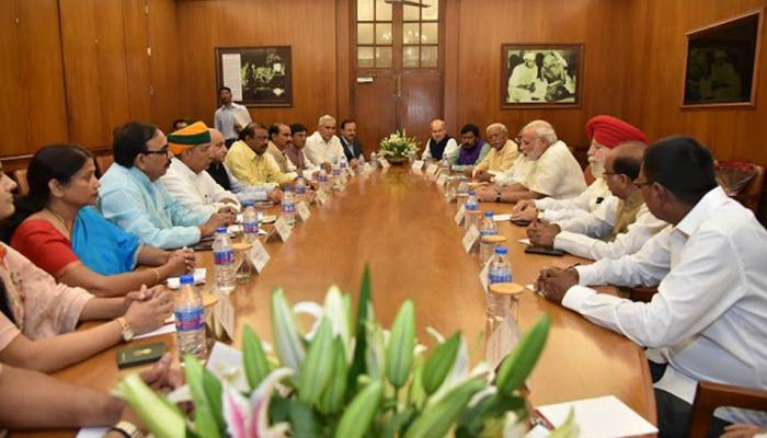Central Cabinet Last Meeting