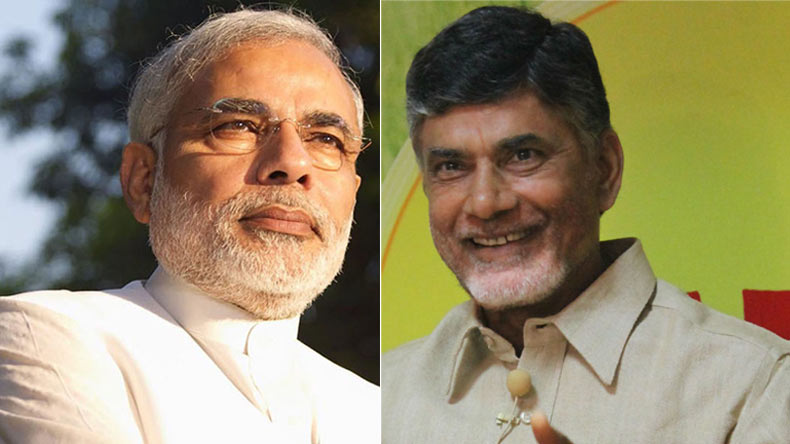 Chandra Babu who complained against Modi and Amit Shah