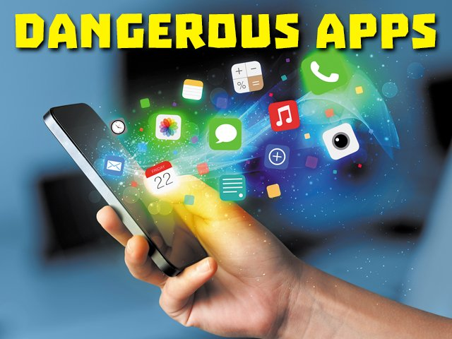 CAREFUL WITH THESE APPS