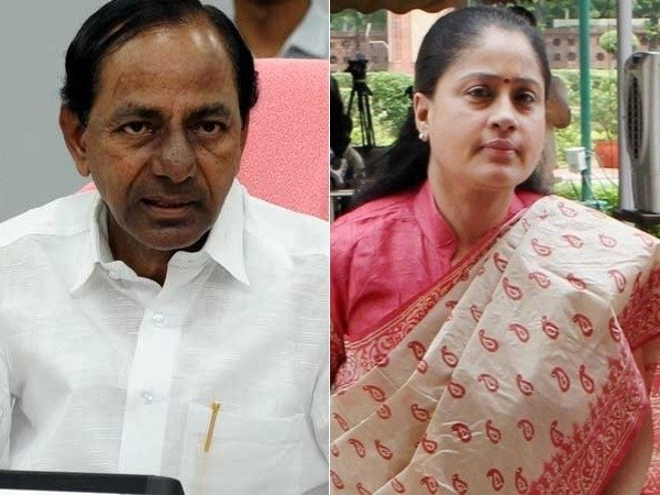 VijayaSanthi Sensational Comments ON KCR