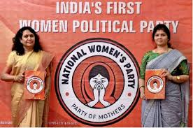NATIONAL Womens Party On Parliament Elections