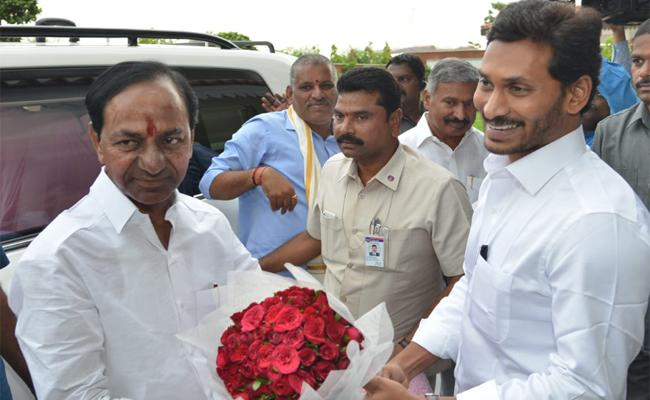 KCR DONATION TO AP