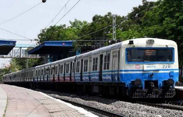 TODAY MMTS PARTIALLY STOPPED