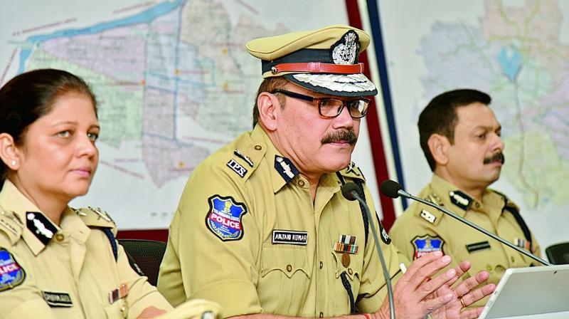 Public unions' outrage over Telangana police