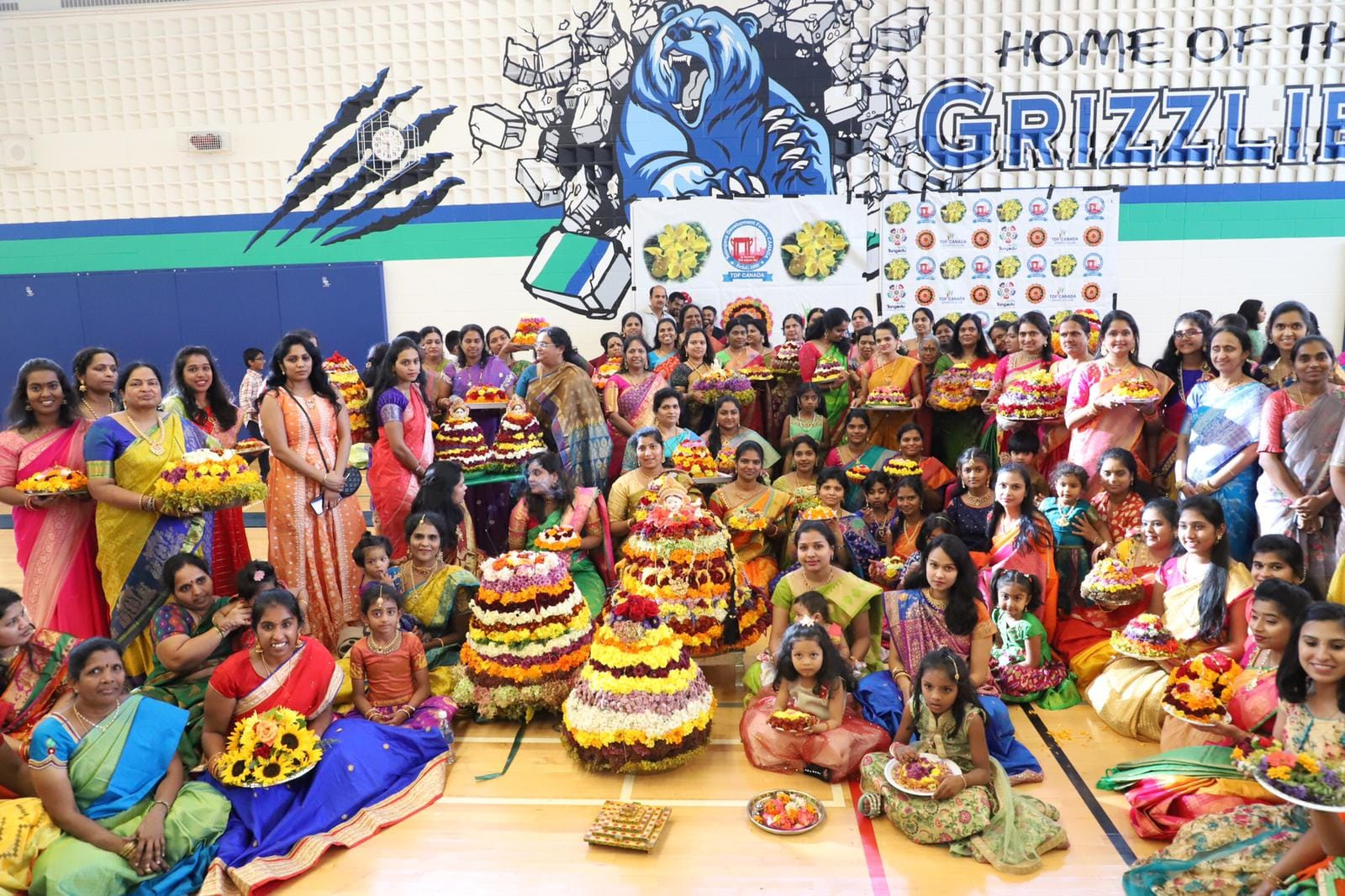 TDF CANADA BATHUKAMMA CELEBRATIONS