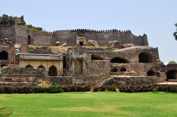 Chances of another fort beneath Golconda fort