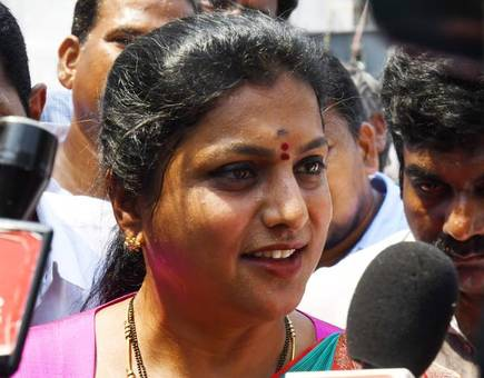 MLA Roja Comments On Paid women Artists