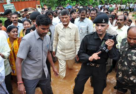 Removed NSG commandos For Chandrababu