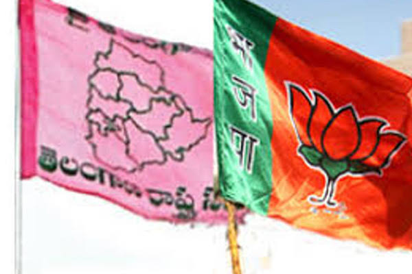 Fight Between TRS BJP In Nizamabad