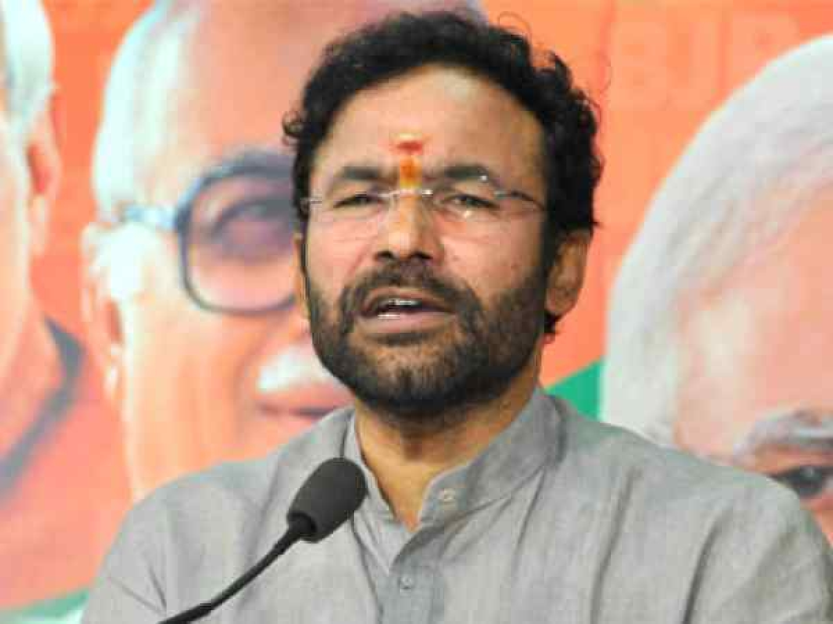 Minister kishan reddy fires on metro officials