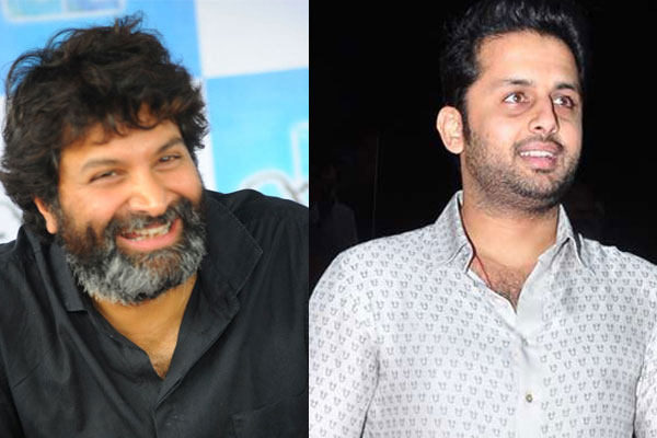 Trivikram Guest for Nithin Bheeshma Pre Release Event