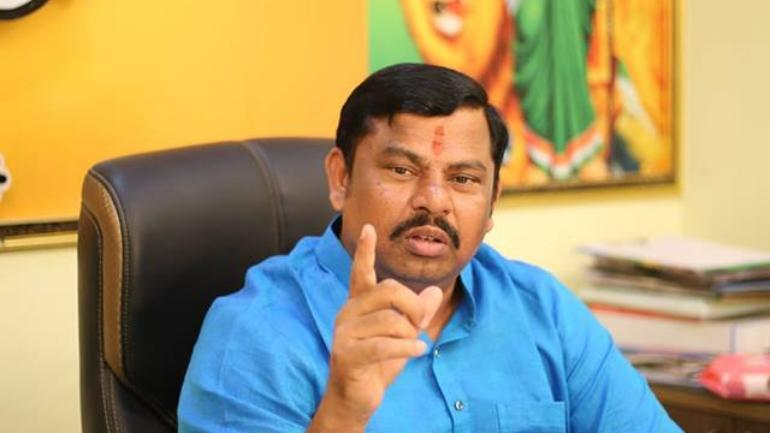 BJP mla Rajasingh comments on New revenue act