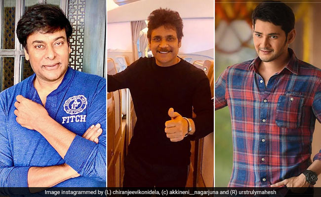 Tollywood Heros donations for Cm relief Fund