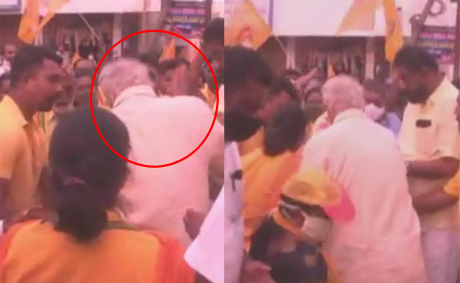 EX MINISTER BEATEN WOMEN