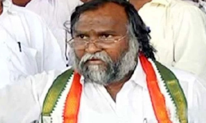 Jagareddy said party range may depend up on time Targeted Harish