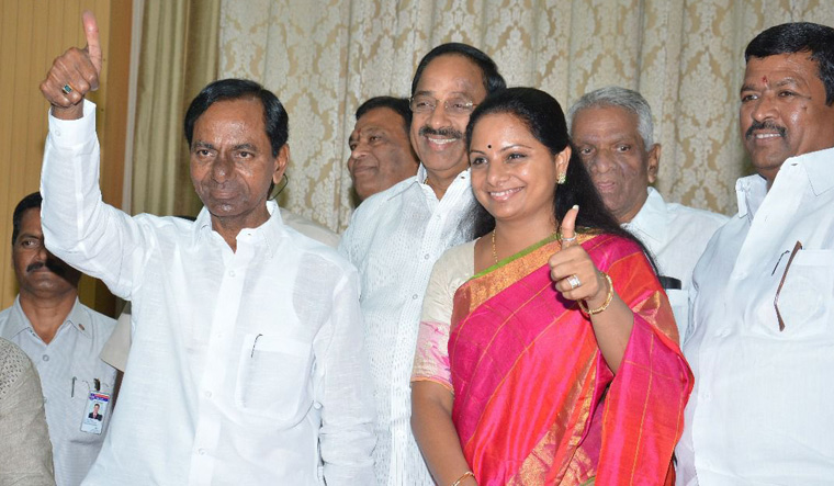 Clear Line To Rajya Sabha For Kavitha