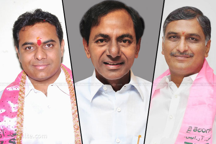 KCR Targeted Harish RaoKTR Complete Election responsibilities to KCR
