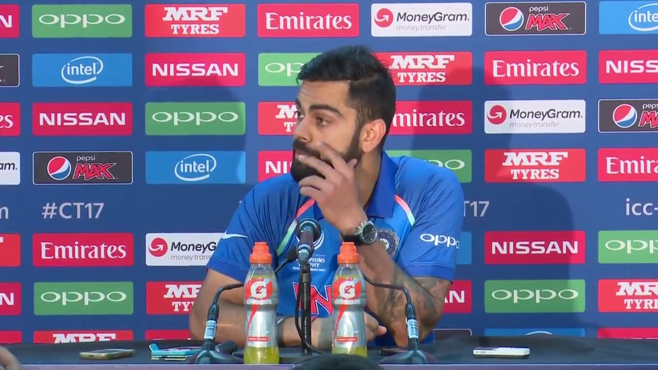 kohli may not play two matches