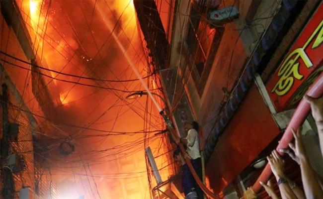 FIRE ACCIDENT IN DHAKA