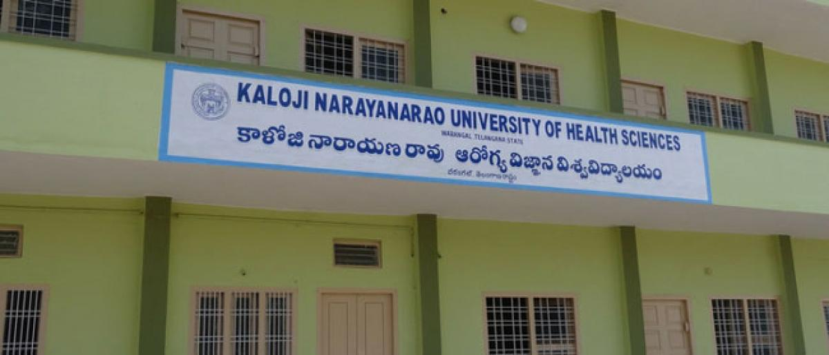 kaloji health university only one guy passed in exams