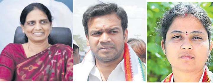 SABITHA TO JOIN IN TRS