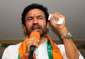 CHANCE TO KISHAN REDDY AS CENTRAL MINISTER