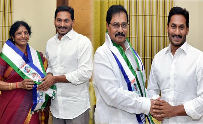 JOININGS IN YSRCP