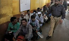 34 Indian fishermen who were captured in Pakistan