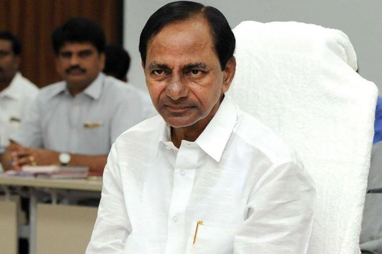 KCR LEADING IN INDIA CITY