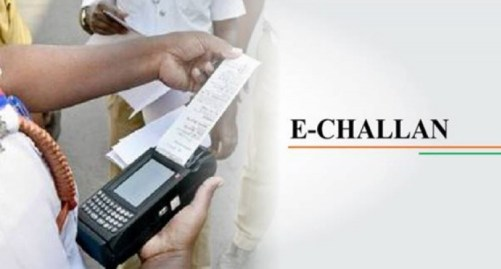 UNABLE TO PAY 189 CHALLAN'S ONE BIKE