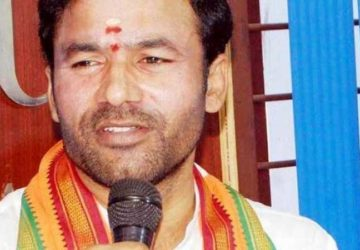 kishan reddy attacked congress, trs