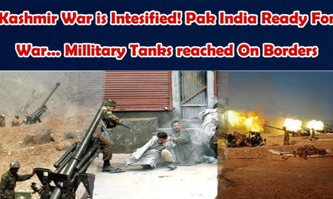 Pak Is Ready To Fight With India For Kashmir