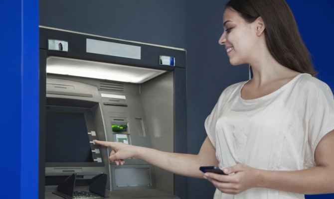 ATM Cash Withdrawals With OTP Only