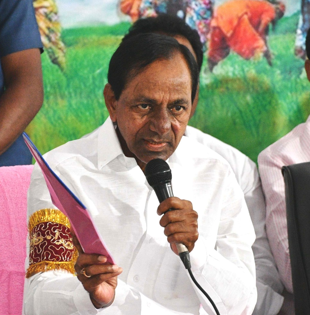 KCR ATTACKS CONGRESS