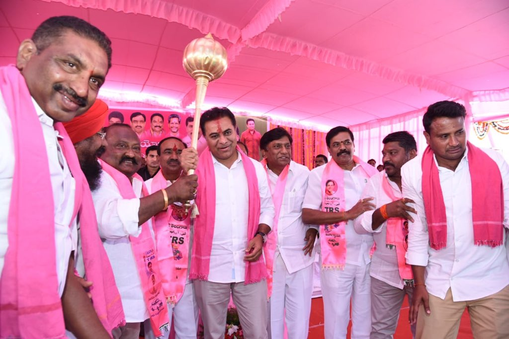 KTR Master Plan For Municipal Elections 2019