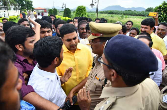 Nara Lokesh And Kala Venkata Rao Arrested