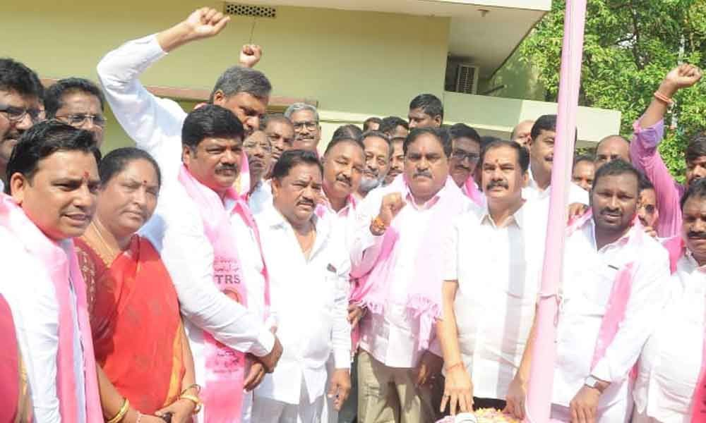 Errabelli about TRS Party Sweeps Municipal Elections