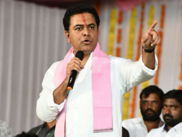 BJP and Congress Formed an Alliance Says KTR
