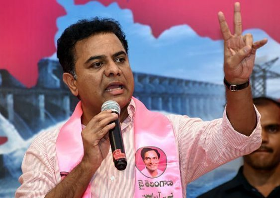 KTR Compaign Two Places In Municipal Elections