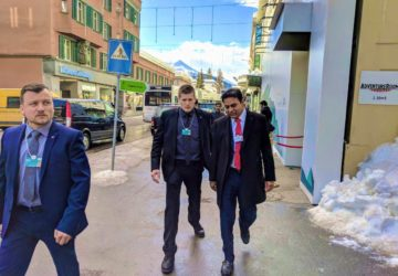 KTR is a Rare Honor In Davos