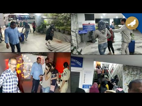 20 women rescued from rave party in Jubilee Hills