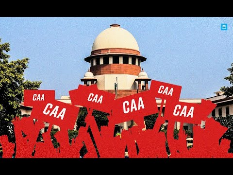 SC notice to centre on petition challenging CAA