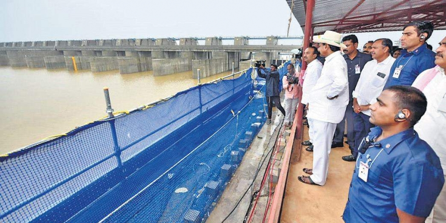 CM KCR visits Kaleshwaram On13th February