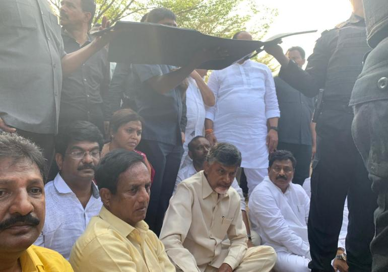 TDP Petition in High Court against vishaka airport incident