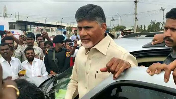 Chandrababu has been arrested by Visakha police