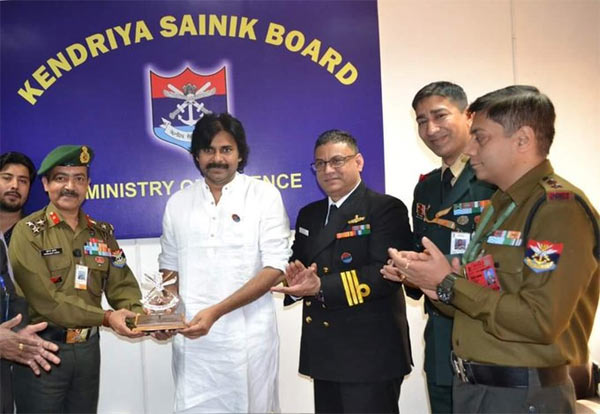 Pawan Kalyan donates Rs 1 crore for welfare of soldiers