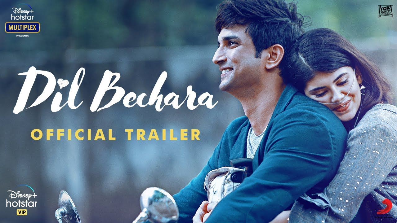 dil bechara trailer