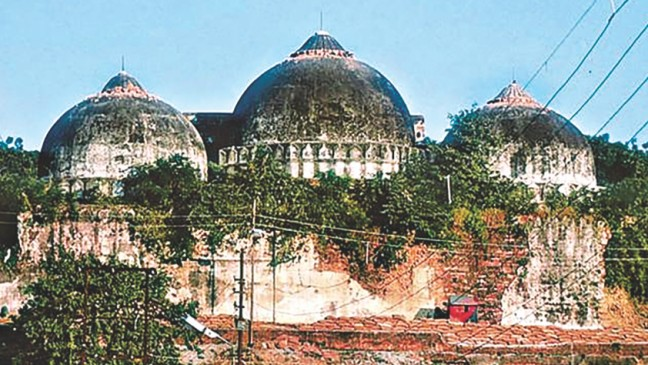 Babri masjid Demoition Final decesion