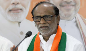 BJP Ex president Laxman comments on Kcr